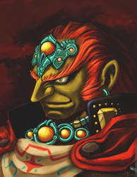 Ganondorf Ingo's portrait by Freecolat