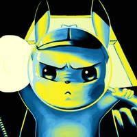 Detective Pikachu Print by Atomic8497