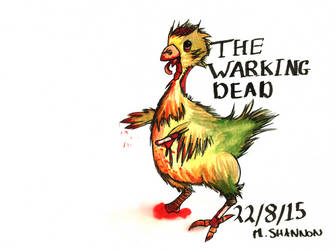 The Warking Dead by StudiousOctopus