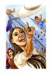 Here we go, Alexandria Ocasio-Cortez! by Skull-the-Kid