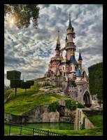 Sleeping Beauty Castle by ArtClem