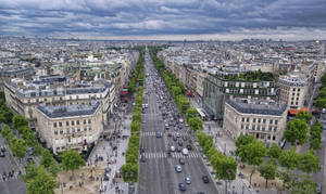 Avenue des Champs Elysees by ArtClem