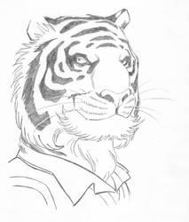 White Tiger by ArtClem