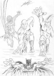 Superheroes by ArtClem