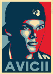 Avicii Tribute - Hope Poster by ArtClem