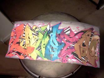Graffiti Drawing by Juicebox617