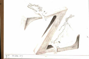 Art class 3D Z by Juicebox617