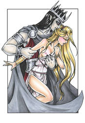 Hades and Persephone by Odins-Girl