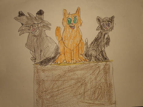 The Three Cat-ateers by Sabreleopard