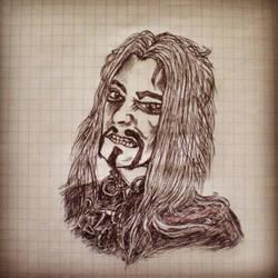 Attila Dorn portrait by AlBrolz