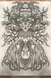 The Horned Goddess by AlBrolz