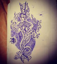 Mermaid Queen by AlBrolz