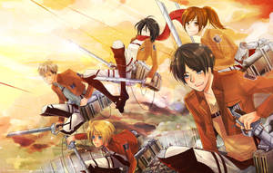 Attack on titan by mewwi12345