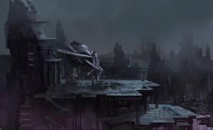 near rainy future by NecRum-2111