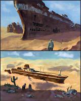 ship speedpaints by NecRum-2111