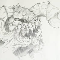 Fallout RPG Races - Deathclaw by ravenclawtom