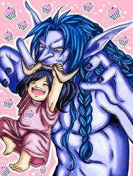 Not so funny little Yari! by Ellychan88