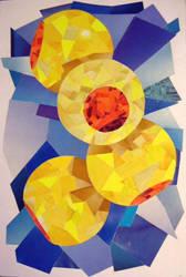 Red, Yellow and Blue by thekitschsidekick