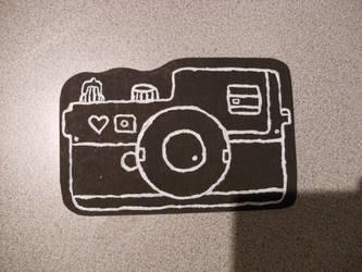 Photographer's postcard by thekitschsidekick