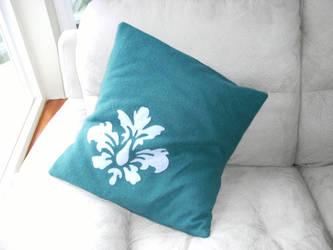 Demask Cushion by thekitschsidekick
