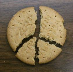 Peace, Biscuit by thekitschsidekick