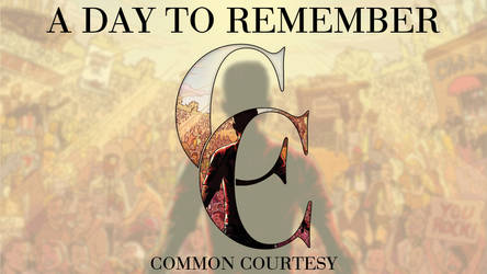 A Day To Remember Common Courtesy by beacdc