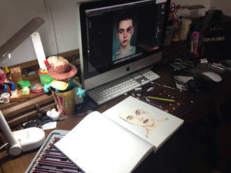 My workspace by beacdc