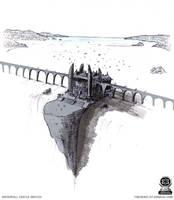 Waterfall Castle Sketch by fstarno