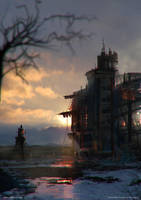 Russian Factory Mystery by fstarno