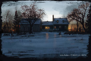House in Fire by fstarno