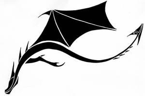 Tribal Pattern - Dragon by Poisondusk
