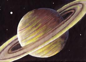 Saturn by DeCORinASON