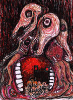 The Maw of Hell by Blackbirdmotel