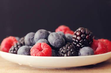 Bowl of berries by VinaApsara
