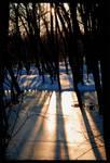 In Between Dark Places by Handie
