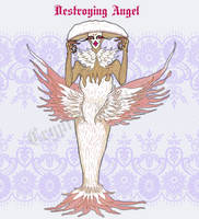 Destroying Angel Auction [OPEN] by cryptidaesthetic