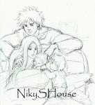 A warm, bright, home - Narusaku Zine 2nd by NikySHouse