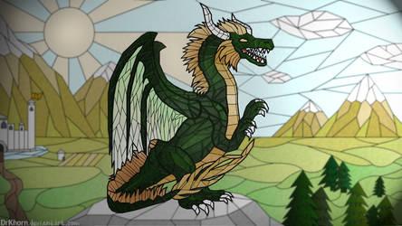 Green dragon by DrKhorn