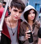 Dante and Kat cosplayer - DmC by LinebeckCosplayArt