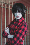Marshall Lee the Vampire King Cosplay by LinebeckCosplayArt