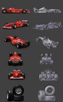 Ferrari F1-2000 by Ahuri