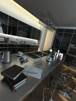 MODERN KITCHEN by PhoenixBai