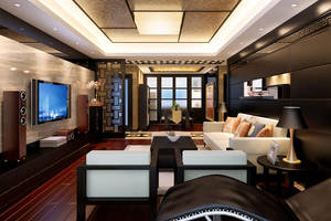Chinese Style Living Room -5 by PhoenixBai
