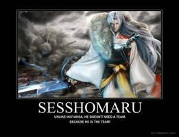 sesshomaru by ZeroXMakida