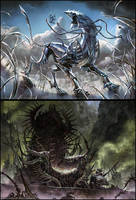 Chrome Steed + Throne of Geth by janaschi