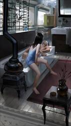 bath by janaschi