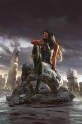 Red She-Hulk 62 by janaschi