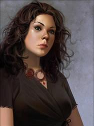portrait by janaschi
