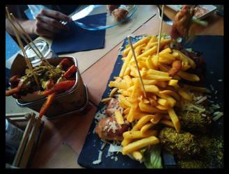Good Food At Catania by BrainLessGirl