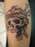 Bloody skull by PANDABOMB406